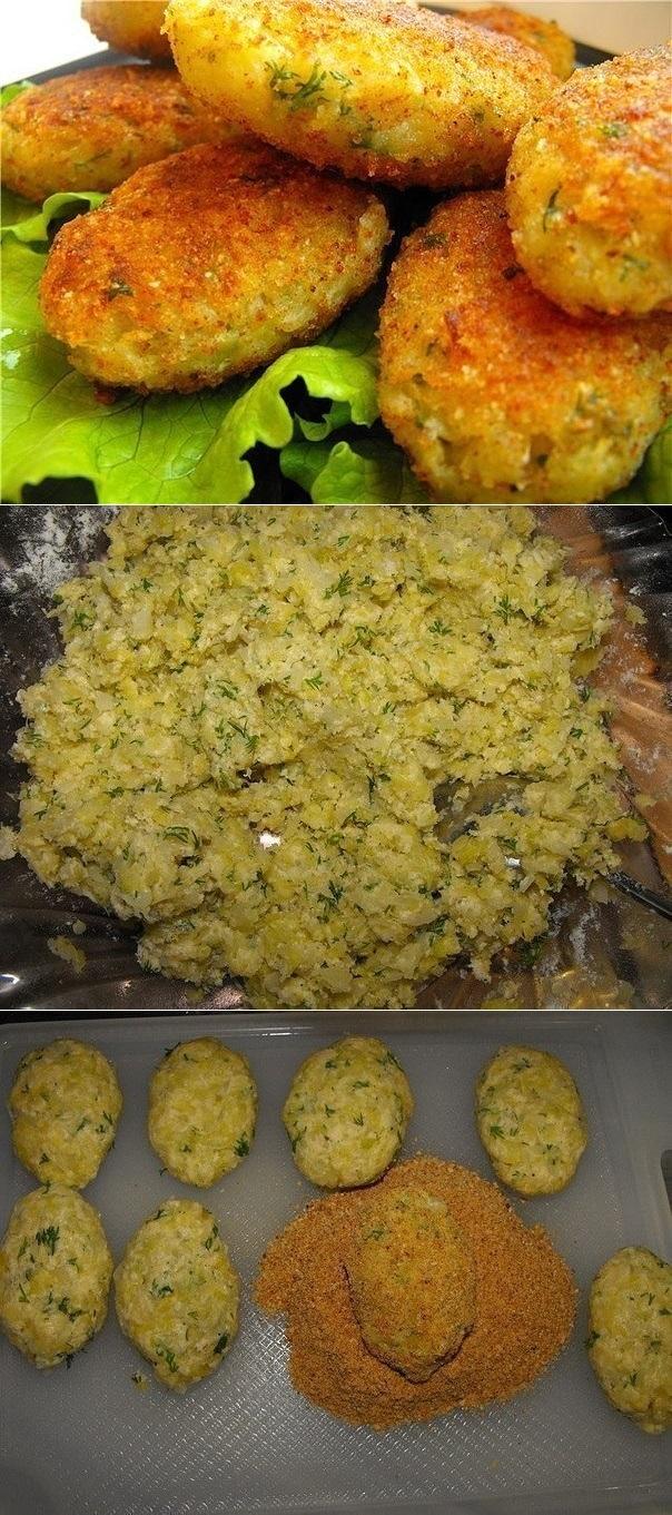 Рецепт вкусных капустных котлет