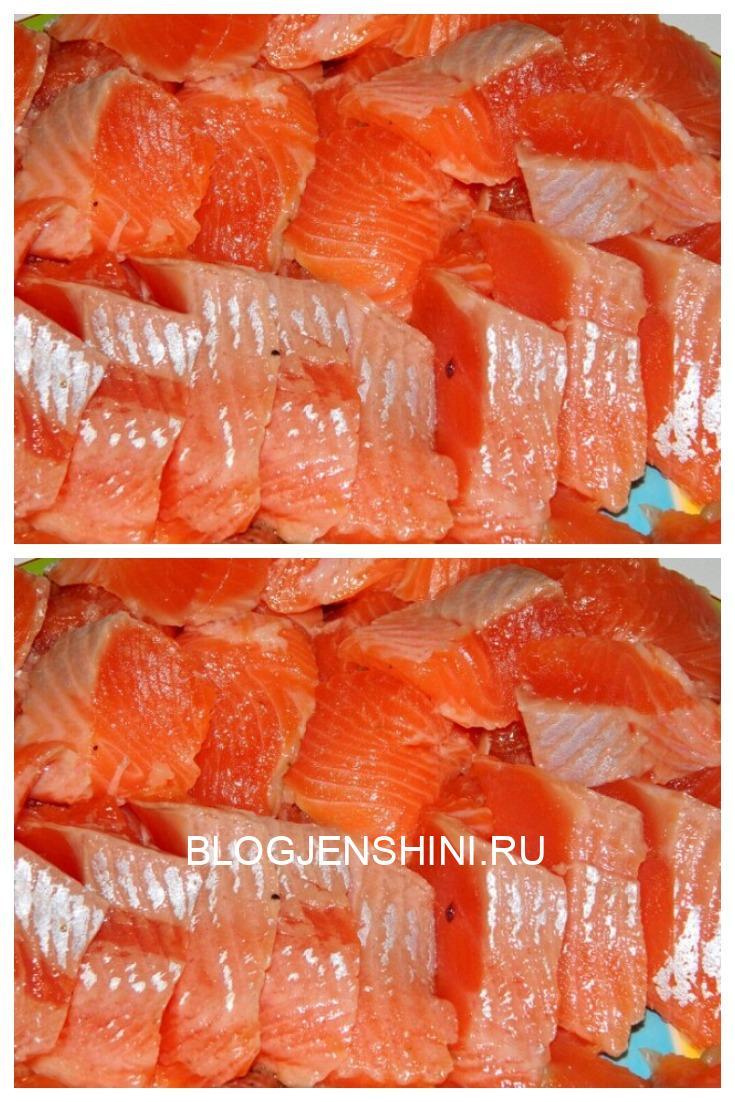 Рыба нежная как масло! Как вкусно засолить красную рыбу дома. Невероятный рецепт