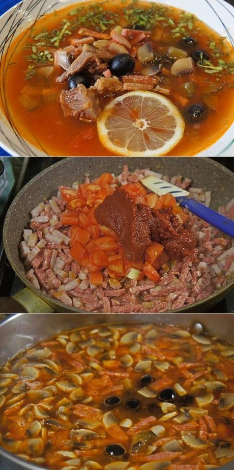 Как приготовить солянку правильно