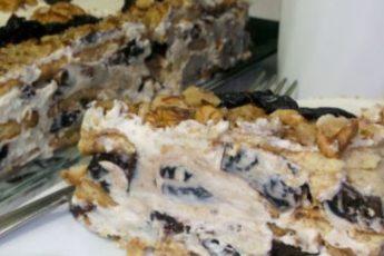 Торт с черносливом без выпечки проще простого. Покорит всех!